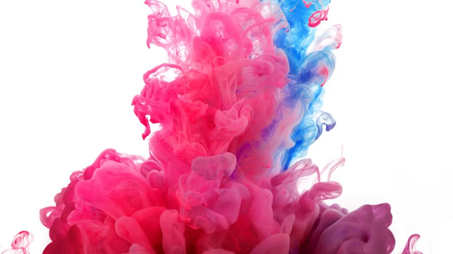 Full HD LG G3 Coloured Smoke Wallpaper