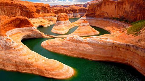 Glen Canyon Lake Powell Arizona Desktop and Mobile Wallpaper