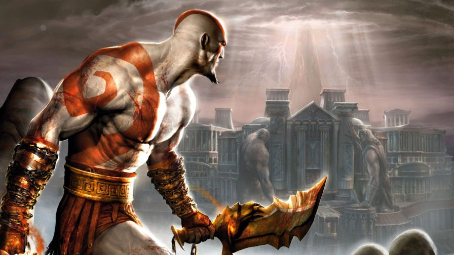 God of War Full Hd Wallpaper for Desktop and Mobiles