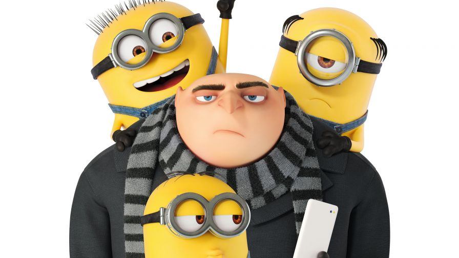 Gru & Minions Despicable Me 3 Hd Wallpaper for Desktop and Mobiles