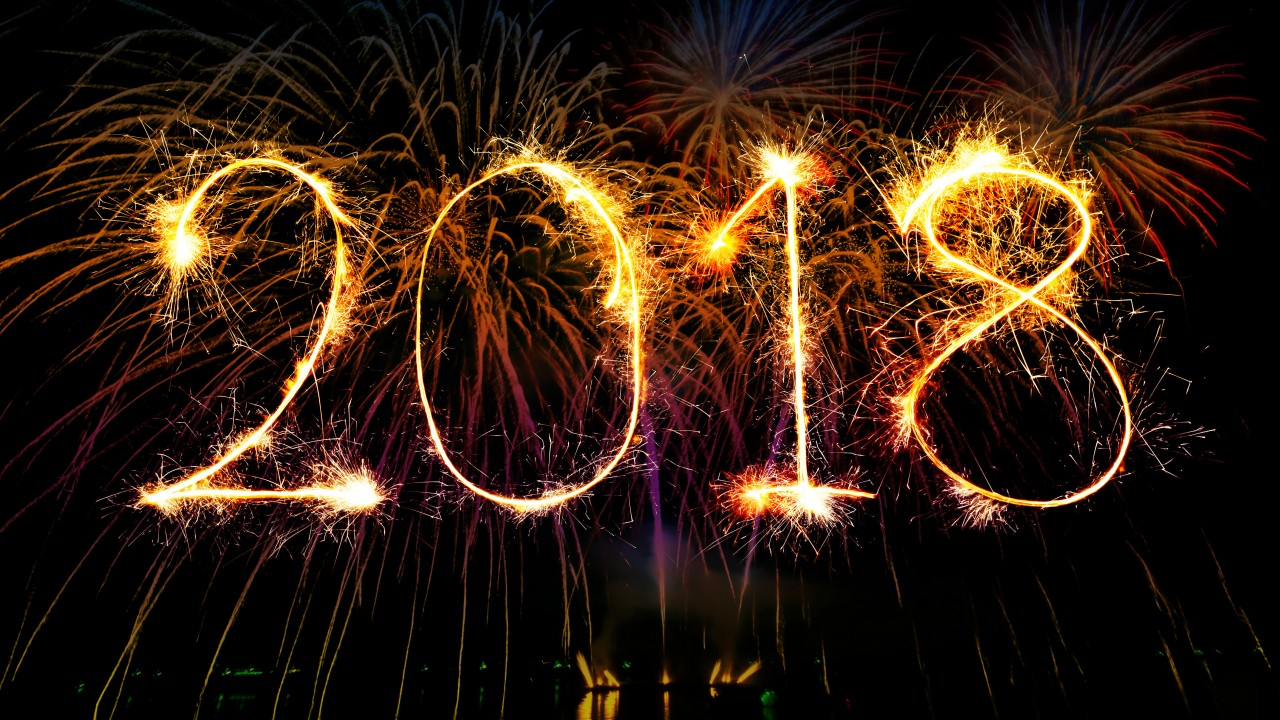 Happy New Year 2018 Hd Wallpaper for Desktop and Mobiles