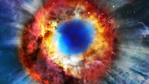 Helix Nebula 4K Hd Wallpaper for Desktop and Mobiles