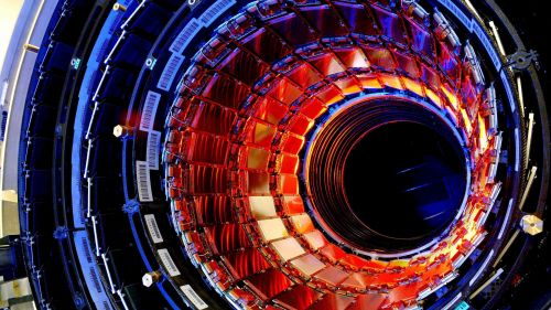 Inside the Large Hadron Collider HD Wallpaper