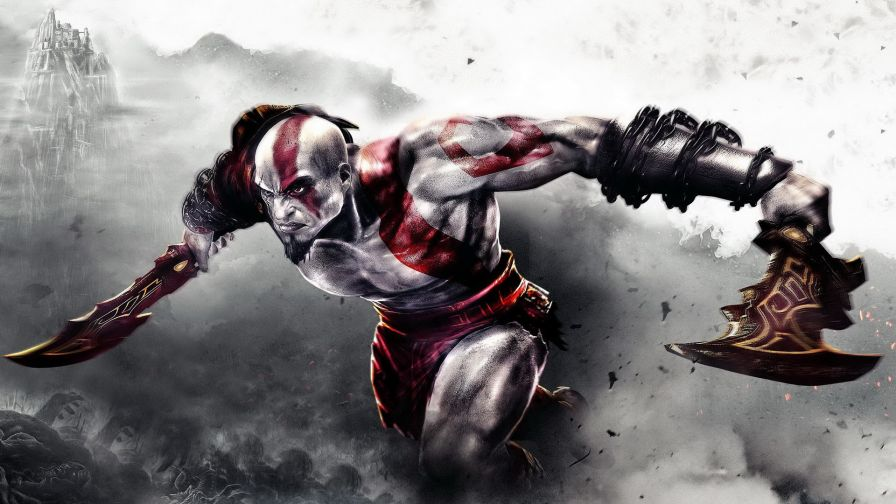 Kratos God of War Hd Wallpaper for Desktop and Mobiles