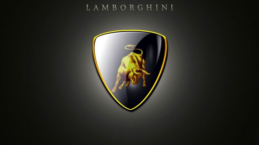 Lamborghini Logo 3D And Hd Wallpaper For Desktop Mobiles