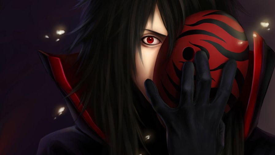 Madara Uchiha With Mask Hd Wallpaper for Desktop and Mobiles