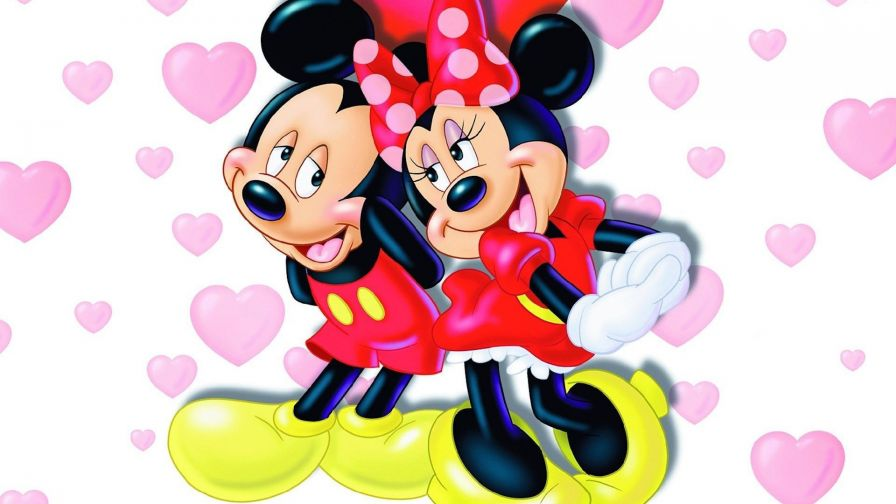 Mickey And Minnie Mouse Hd Wallpaper for Desktop and Mobiles