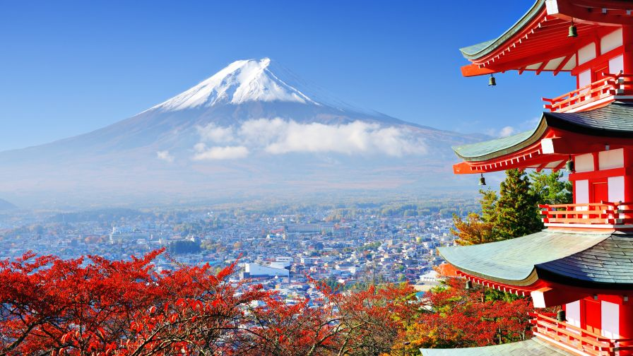 Mount Fuji HD Wallpapers for Desktop and Mobiles