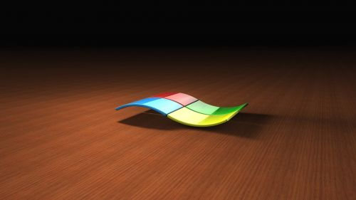 Multicolored Windows 7 logo HD Wallpaper