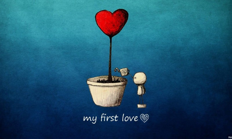 My First Love Hd Wallpaper for Desktop and Mobiles