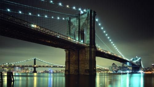 New York Brooklyn Bridge Wallpaper for Desktop and Mobiles