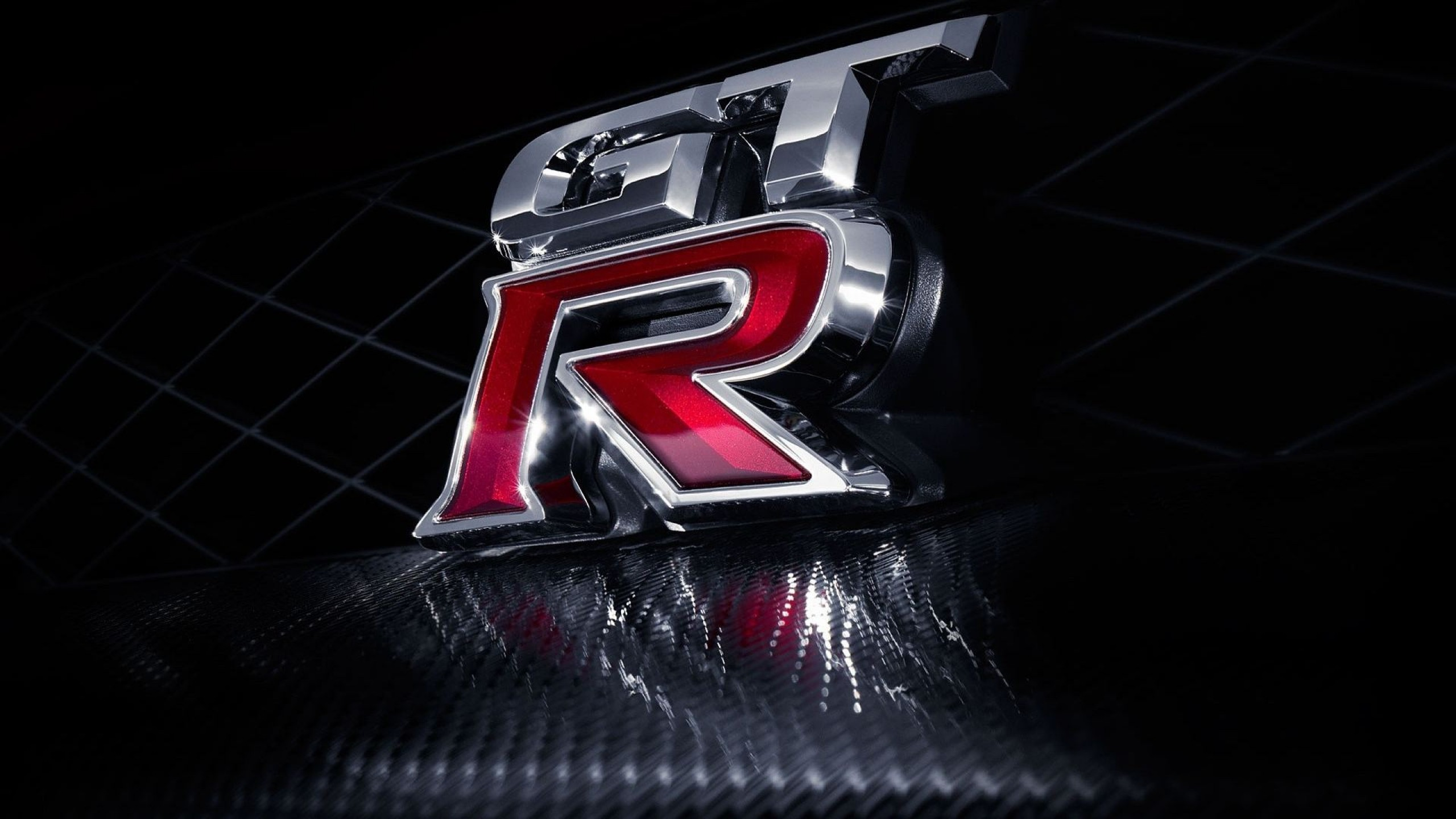 Nissan GT-R Badge Logo Wallpaper for Desktop and Mobiles