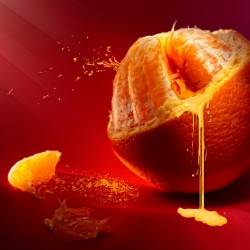 Orange Hd Wallpaper for Desktop and Mobiles