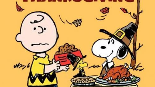 Peanuts Thanksgiving HD Wallpaper