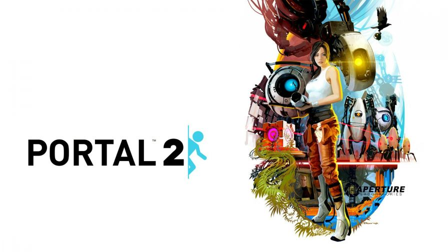 Portal 2 Game Free 4K Hd Wallpaper for Desktop and Mobiles