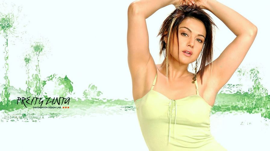 Preity Zinta Hot Hd Wallpaper Wallpapersnet