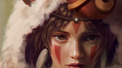Princess Mononoke The movie HD Wallpaper