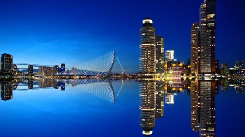 Rotterdam Netherlands Wallpaper for Desktop and Mobiles