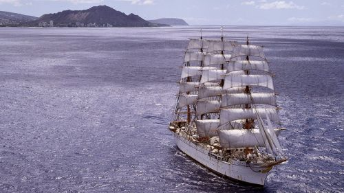 Sailing ship HD Wallpaper