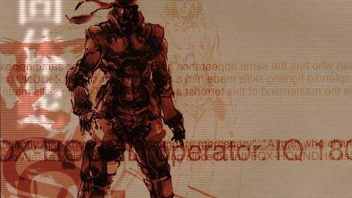 Solid Snake HD Wallpaper