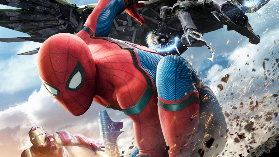 Spiderman Homecoming 4K Full Hd Wallpaper for Desktop and Mobiles