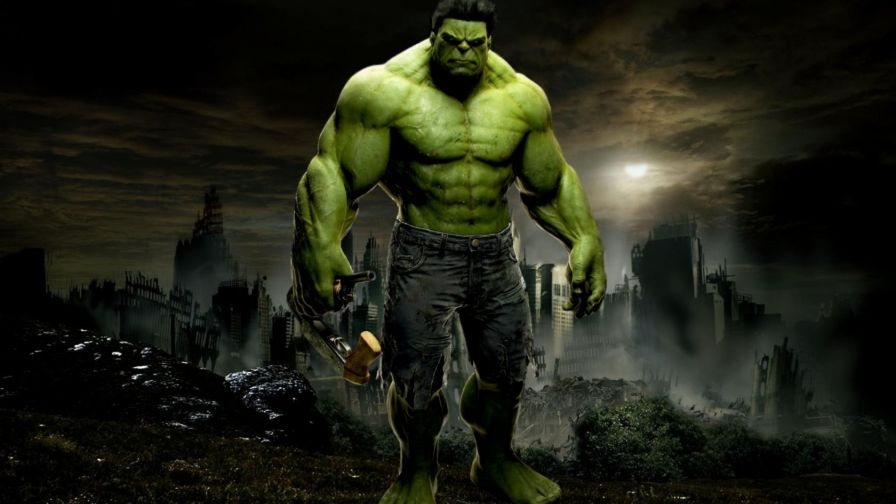 The Incredible Hulk Hd Wallpaper for Desktop and Mobiles
