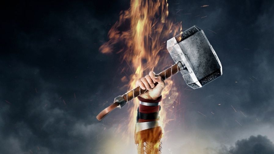 Thor 2 The Dark World Hammer Wallpaper for Desktop and Mobiles