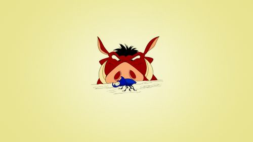 Timon Pumbaa Hd Wallpaper for Desktop and Mobiles