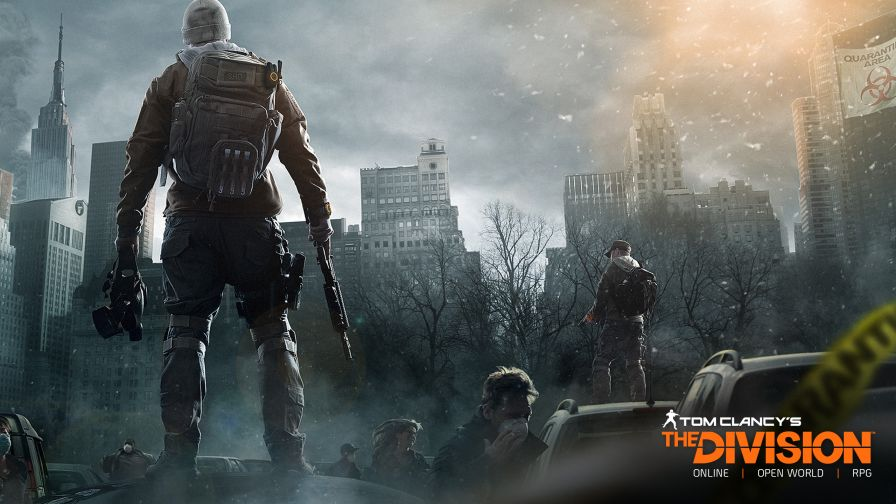 Tom Clancy's The Division 4K Wallpaper for Desktop and Mobiles