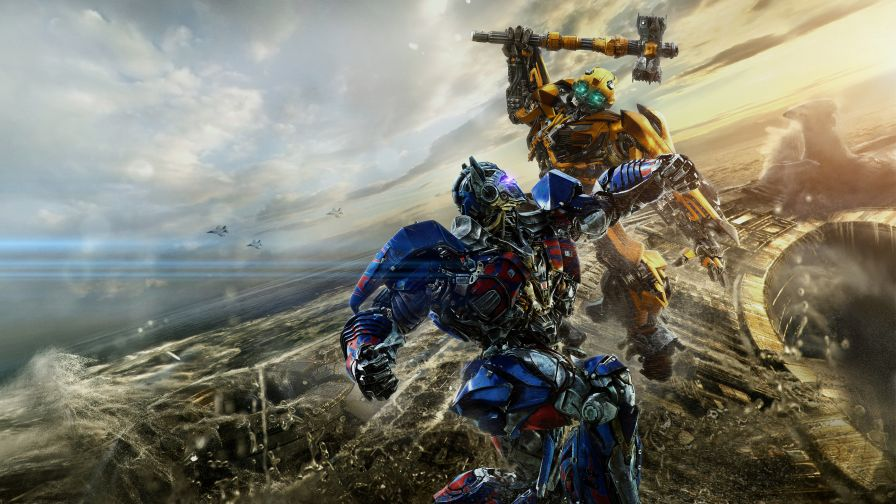 Transformers The Last Knight Hd Wallpaper For Desktop And Mobiles