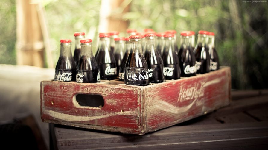 Vintage Coca Cola Hd Wallpaper for Desktop and Mobiles