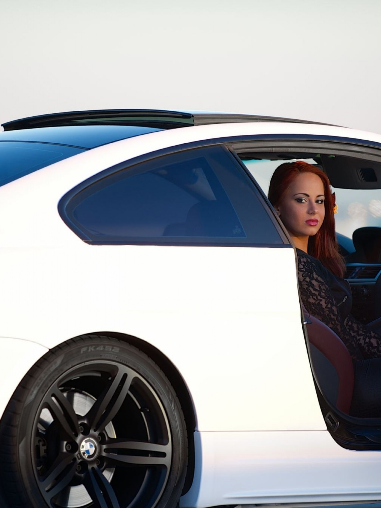 White Bmw M6 Car Hd Wallpaper for Desktop and Mobiles ...