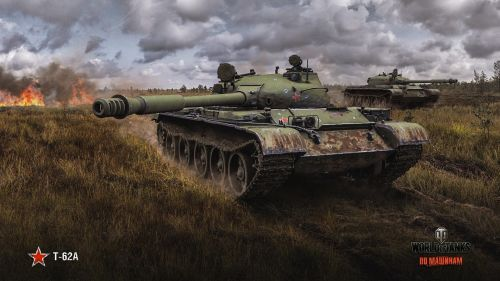 World of tanks T-62A HD Wallpaper