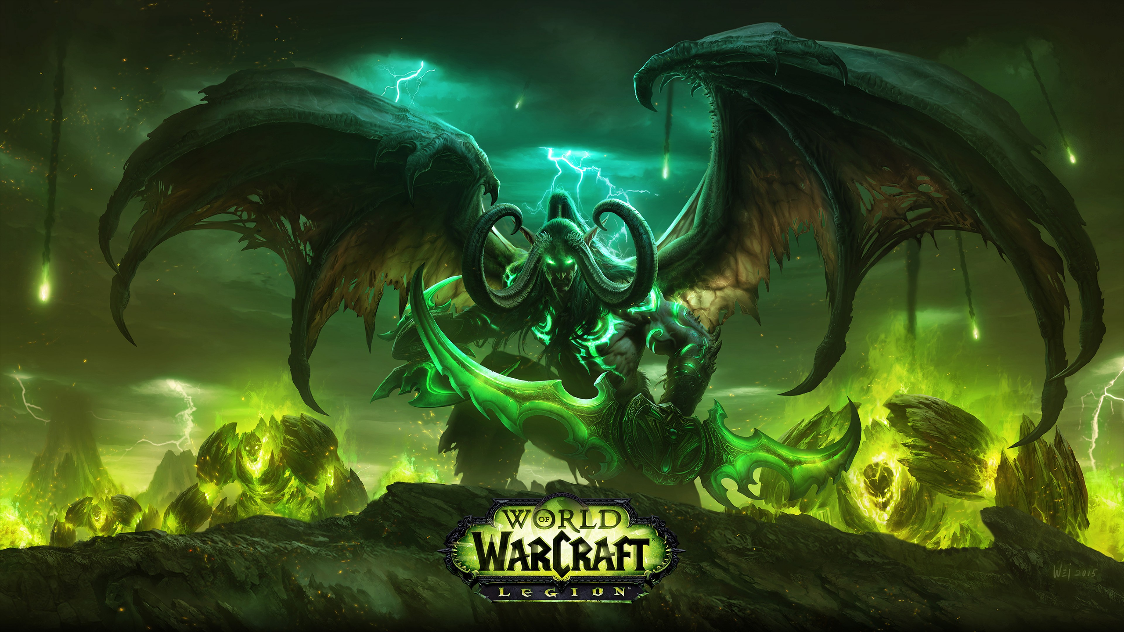 World Of Warcraft Wow Legion Hd Wallpaper for Desktop and Mobiles