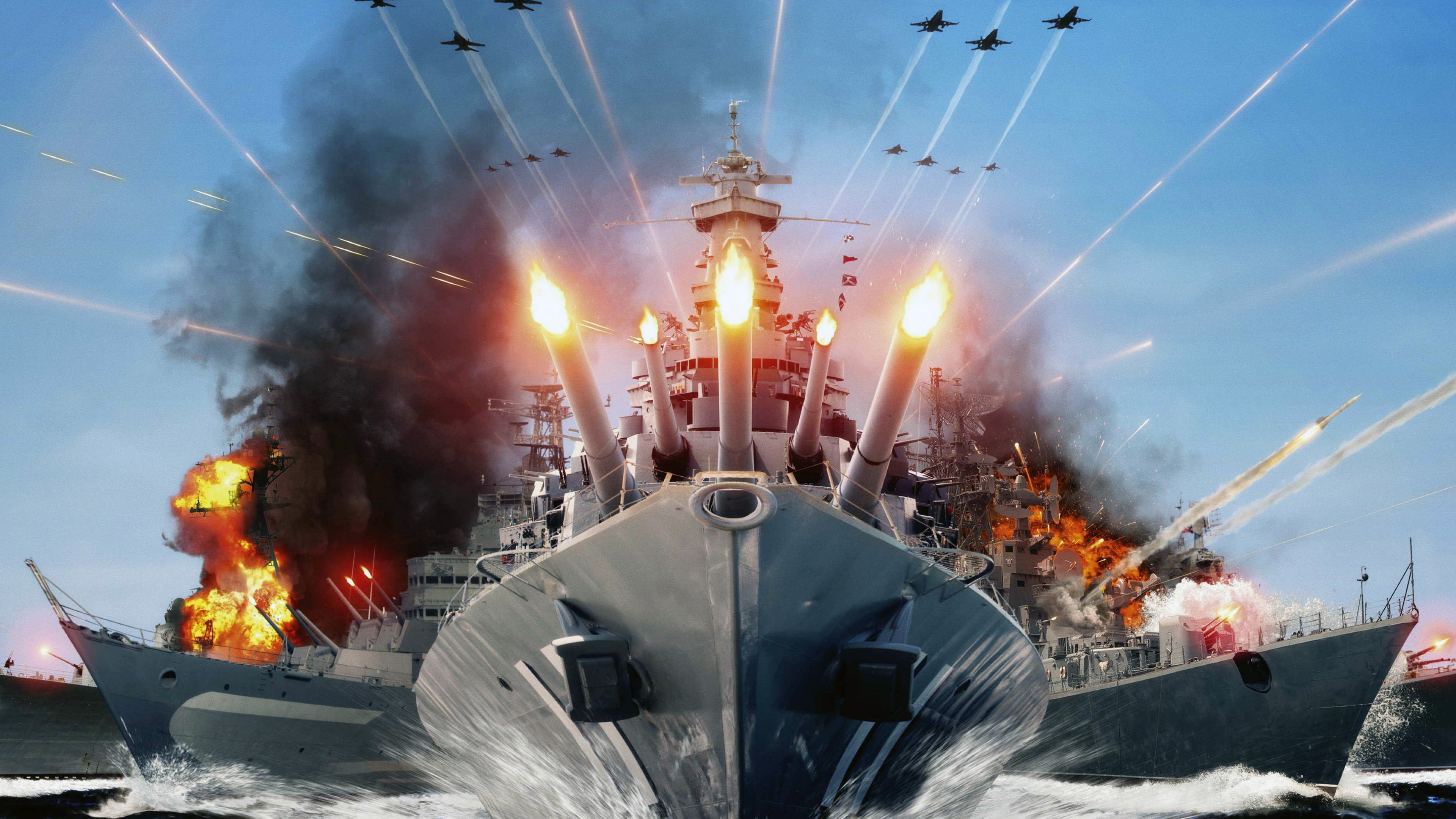 World Of Warships Hd Wallpaper For Desktop And Mobiles 4k Ultra Hd