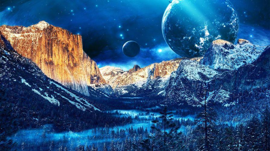 Yosemite Valley HD Wallpaper