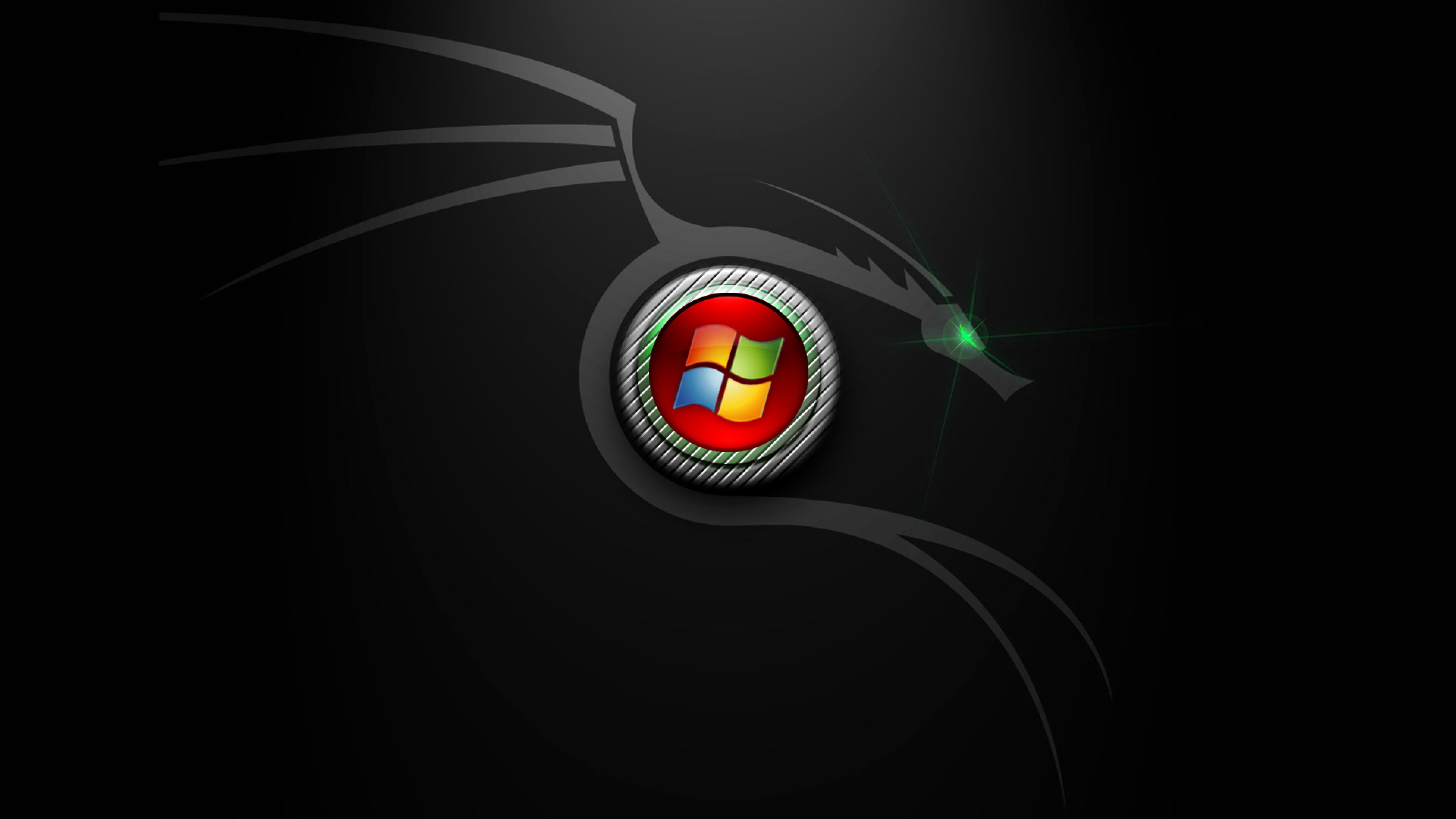 Windows 7 Black Edition Hd Wallpaper 4k Ultra Hd Hd