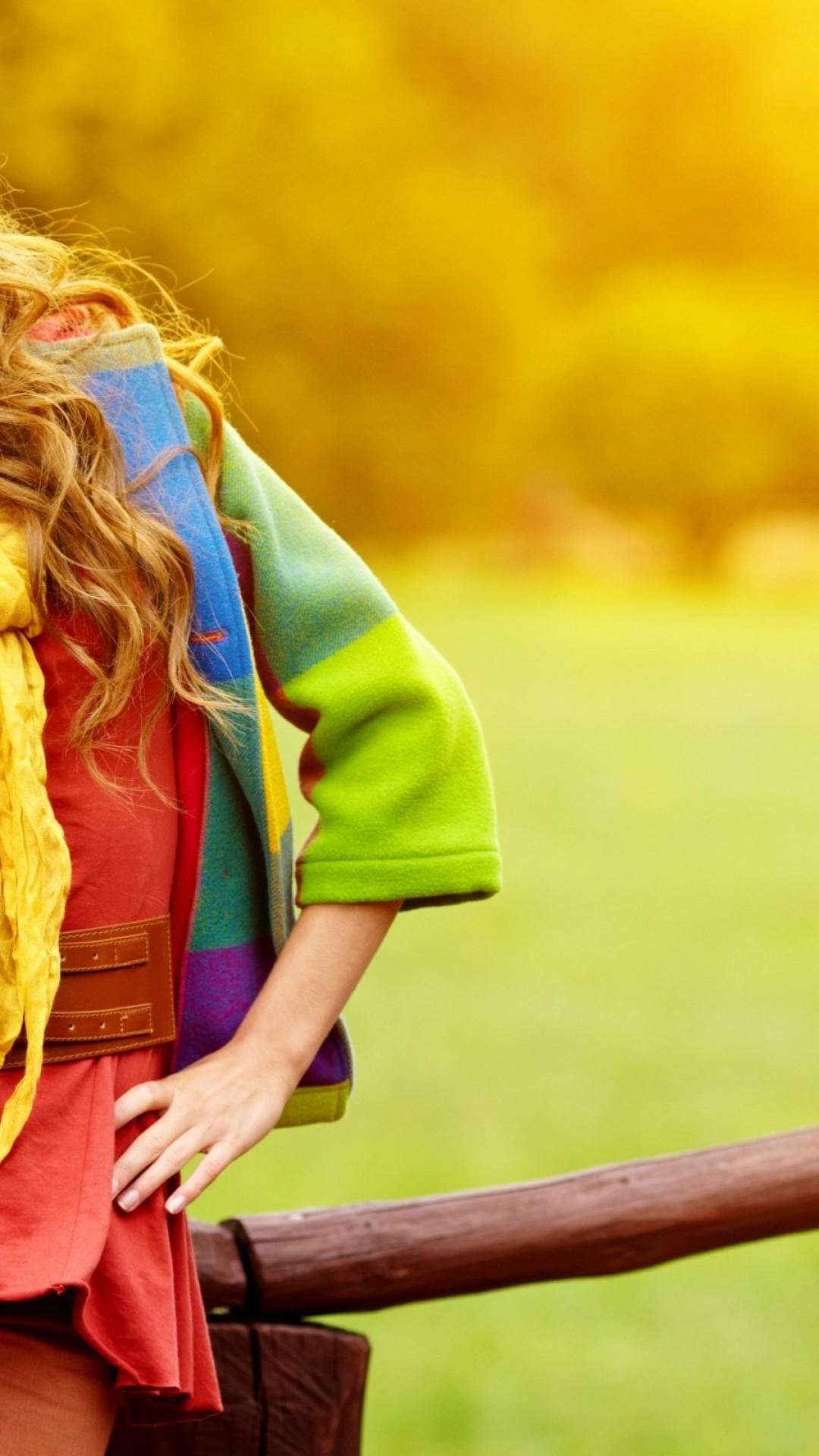 Woman Autumn Fashion Hd Wallpaper Iphone 6 6s Plus Hd