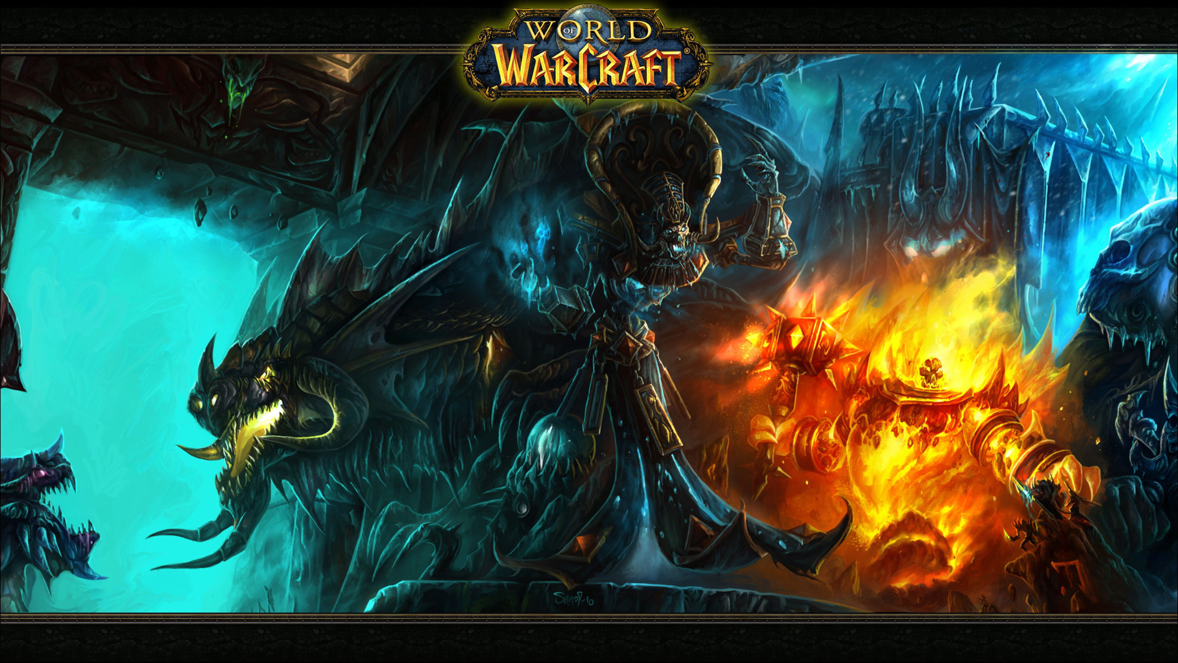 World Of Warcraft Wallpaper For Desktop And Mobiles 4K