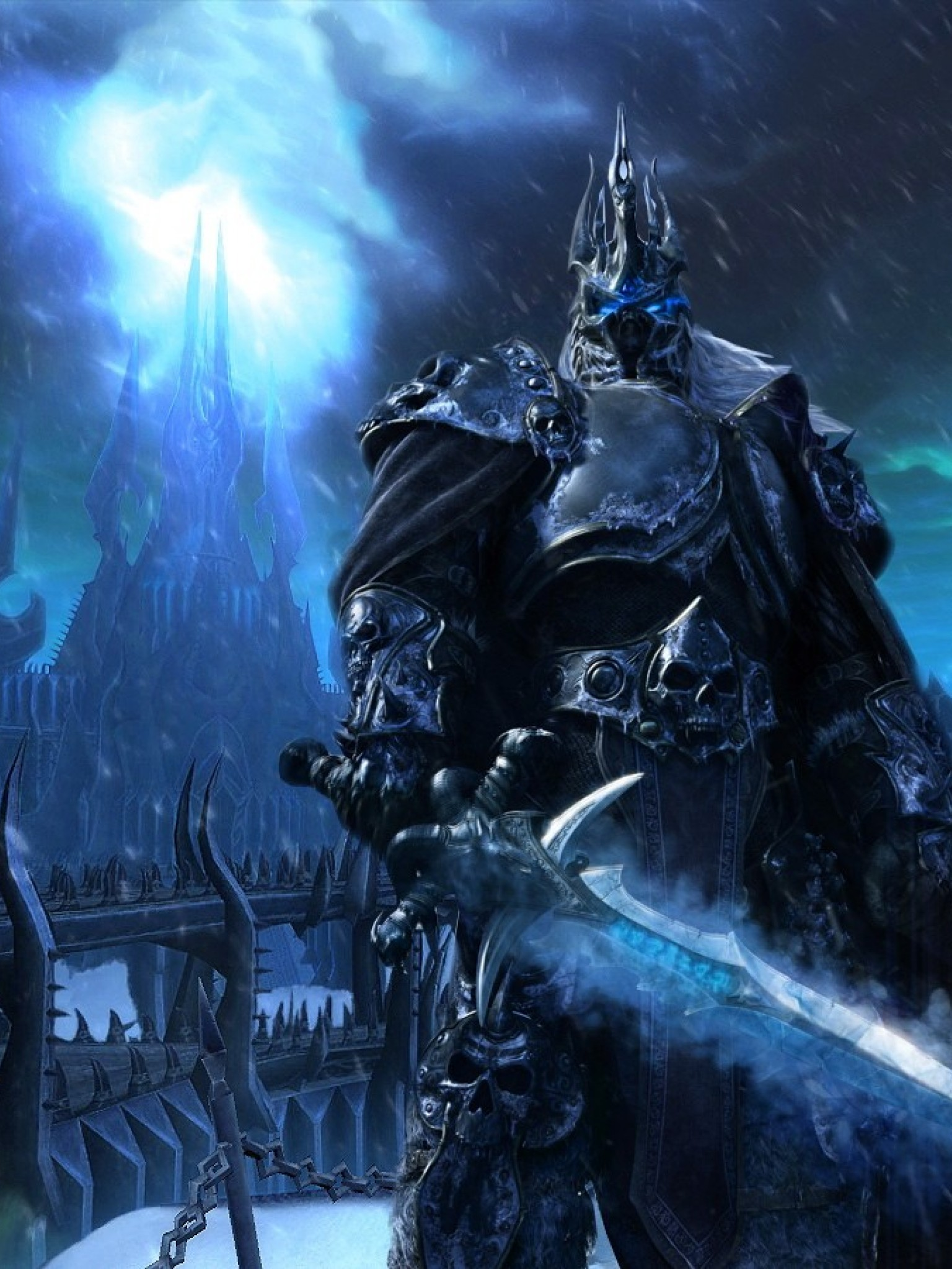 World Of Warcraft Wrath Of The Lich King Hd Wallpaper Retina Ipad