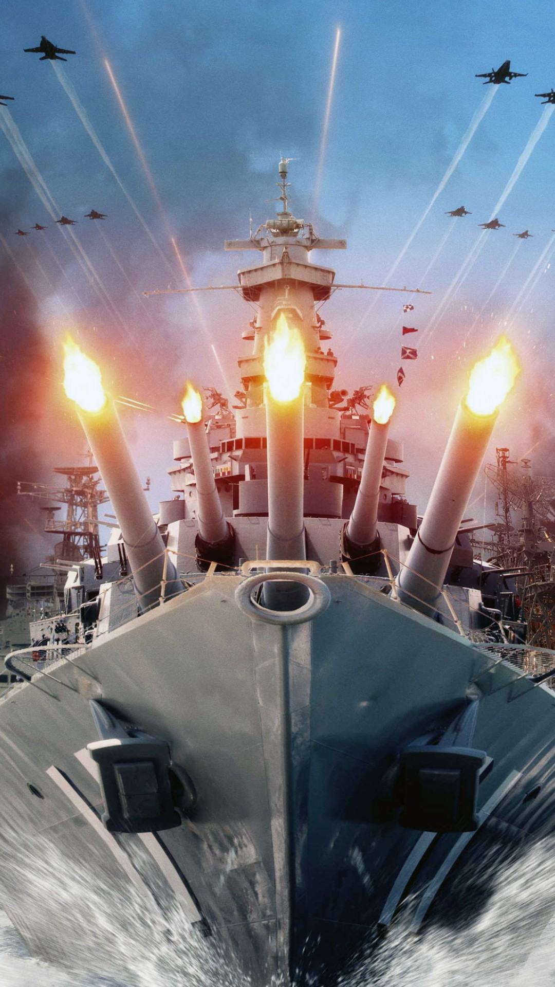 World Of Warships Hd Wallpaper For Desktop And Mobiles Iphone 6